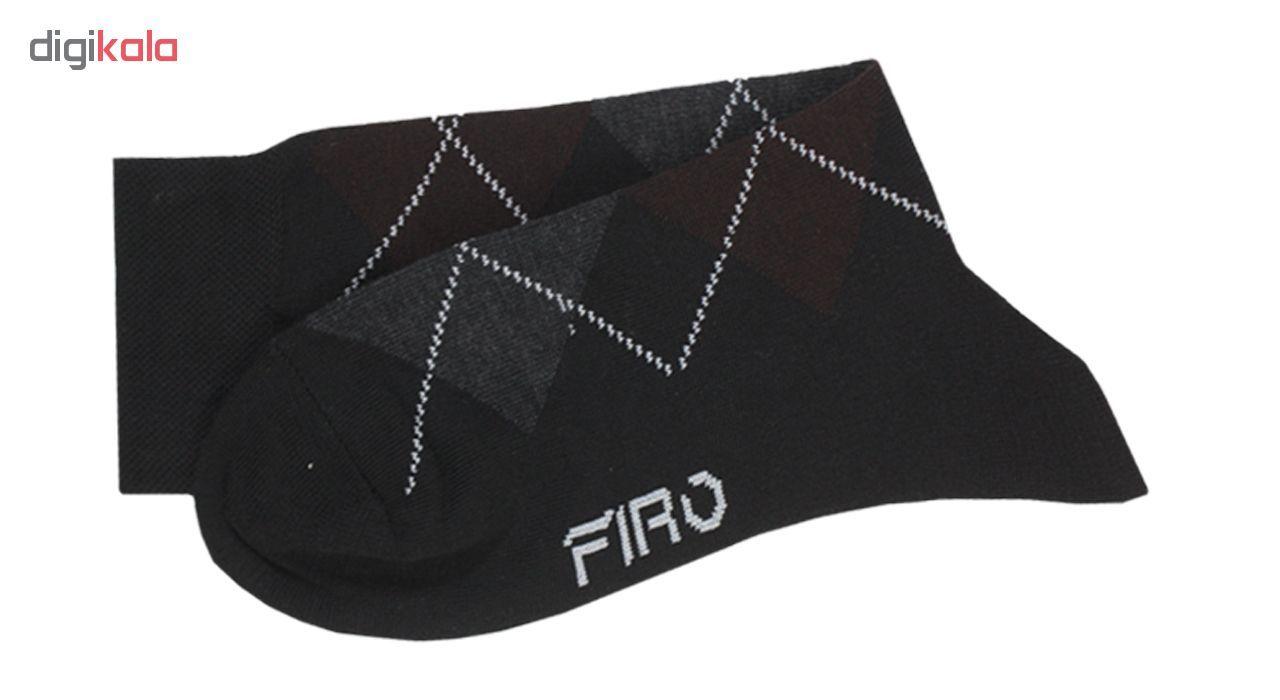 جوراب مردانه فیرو کد FT510 مجموعه 6 عددی main 1 8