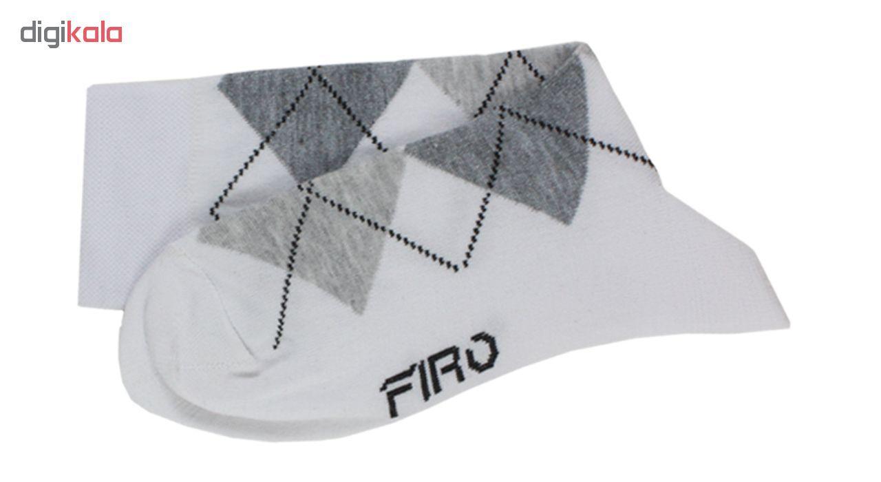 جوراب مردانه فیرو کد FT510 مجموعه 6 عددی main 1 9