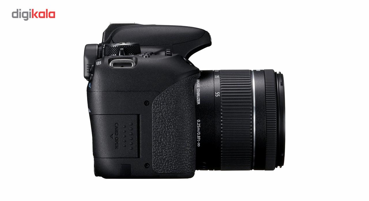 دوربین دیجیتال کانن مدل EOS 800D به همراه لنز 18-55 میلی متر IS STM thumb 3