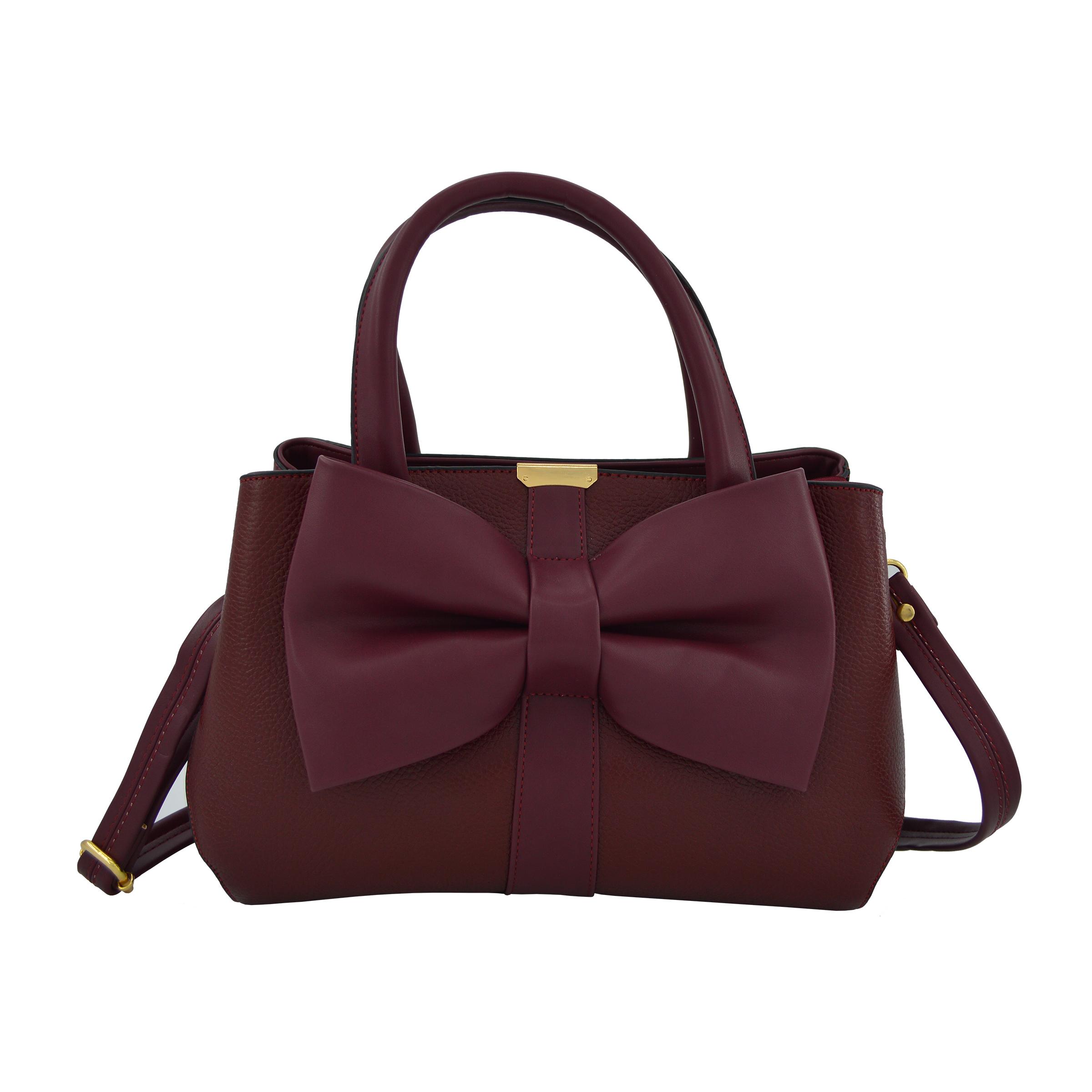 کیف دستی زنانه چرم مکس مدل آلدورا 11305