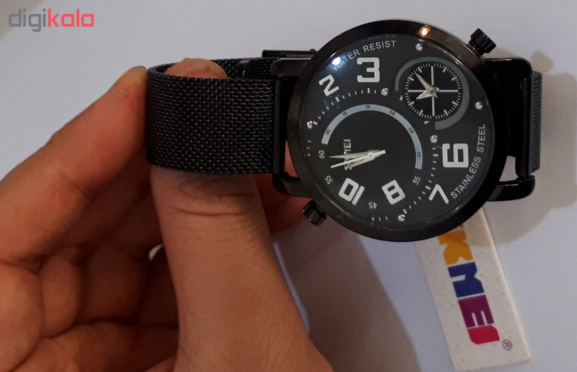 کد تخفیف                                      ساعت مچی عقربه ای مردانه اسکمی مدل 9168