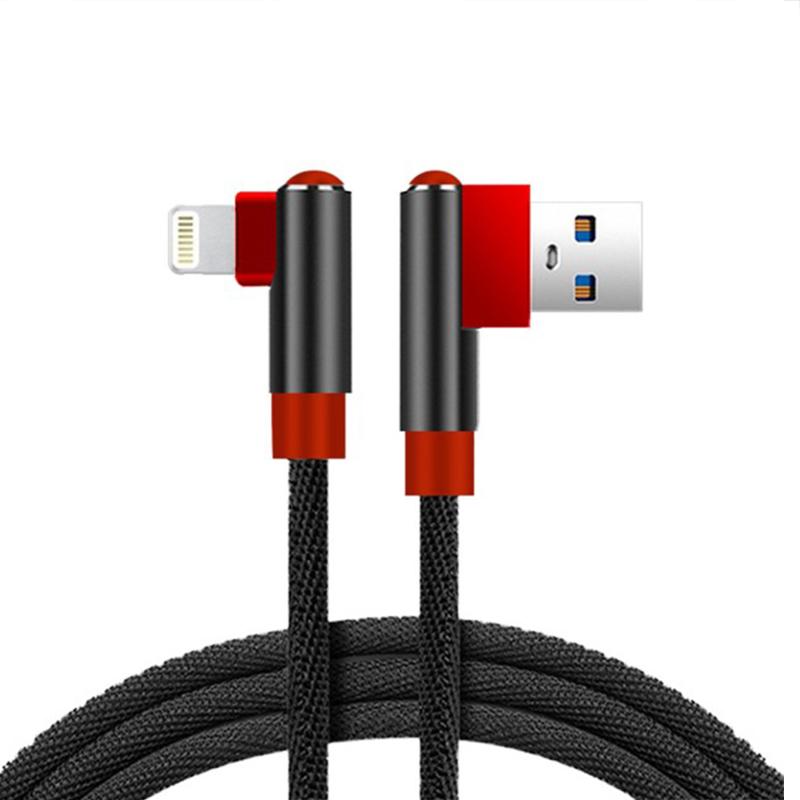 کابل تبدیل USB به لایتنینگ دبلیو یو دبلیو مدل x97 طول 0.9 متر
