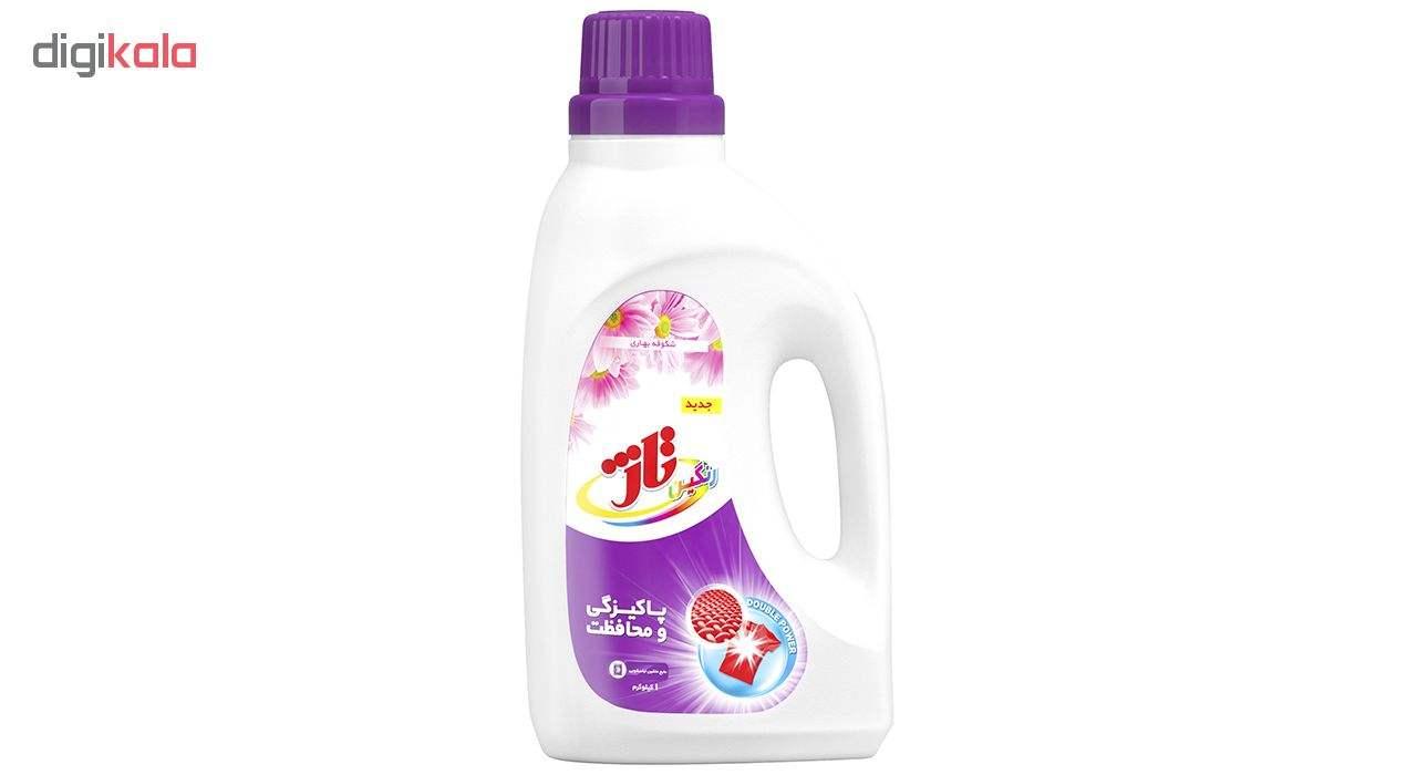 مایع لباسشویی رنگین تاژ مقدار 1000 گرم main 1 1
