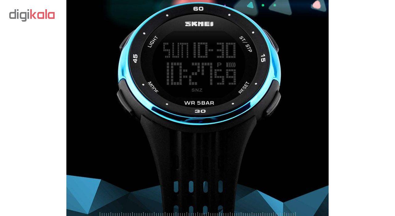 کد تخفیف                                      ساعت مچی دیجیتال اسکمی مدل 1219-B