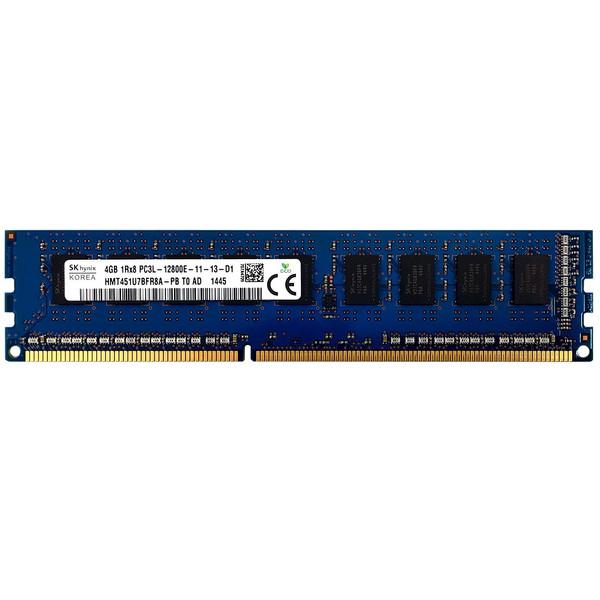 رم سرور DDR3 تک کاناله 1600 مگاهرتز CL11 اس کی هاینیکس مدل HMT451U7BFR8A-PB T0 AD ظرفیت 4 گیگابایت