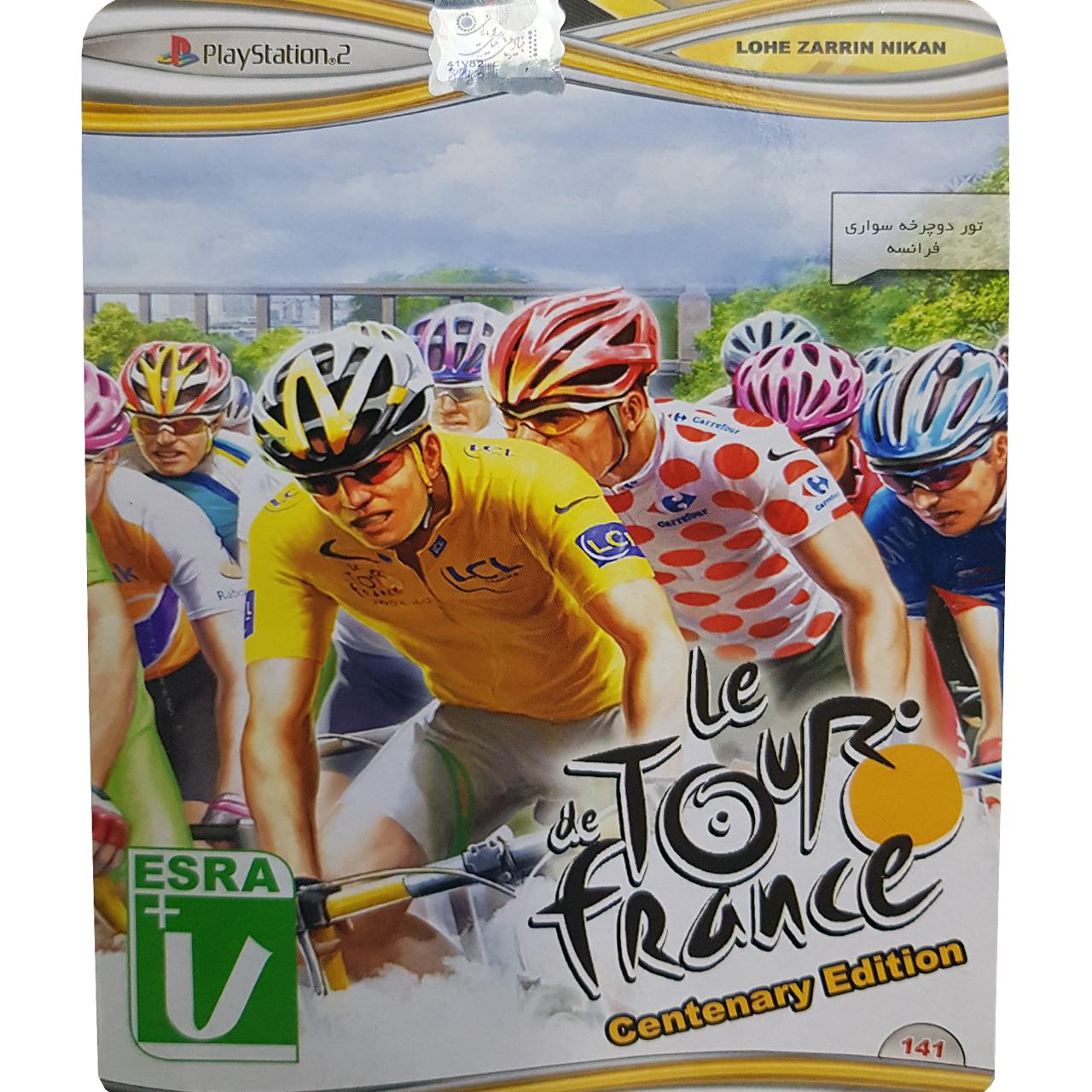 بازی Tour de France مخصوص PS2 نشر لوح زرین