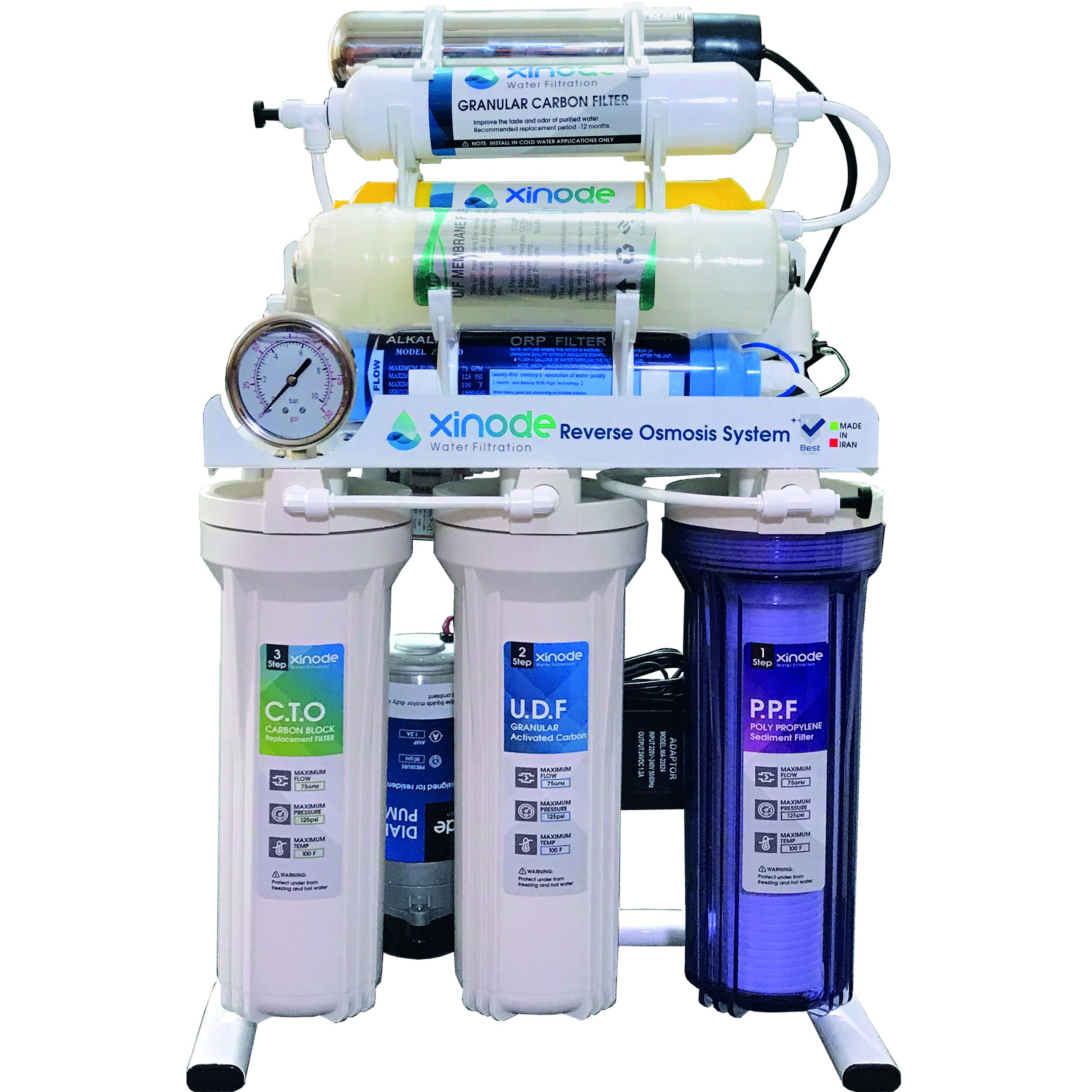 دستگاه تصفیه کننده آب زینود مدل AXC-1105HB