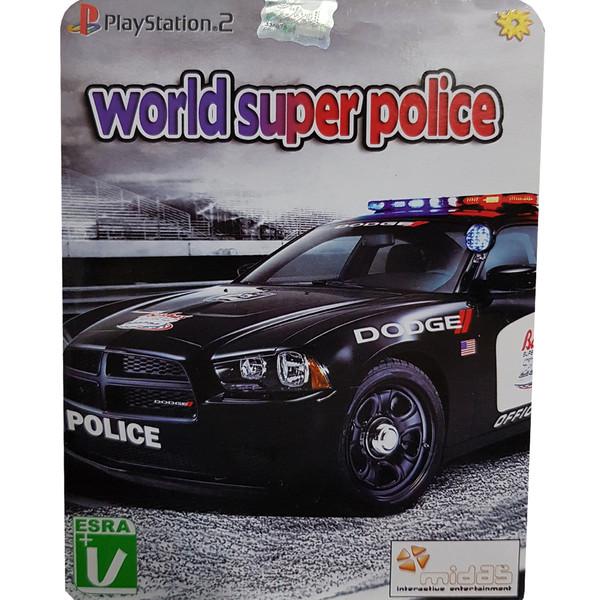 بازی world super police مخصوص PS2 نشر لوح زرین