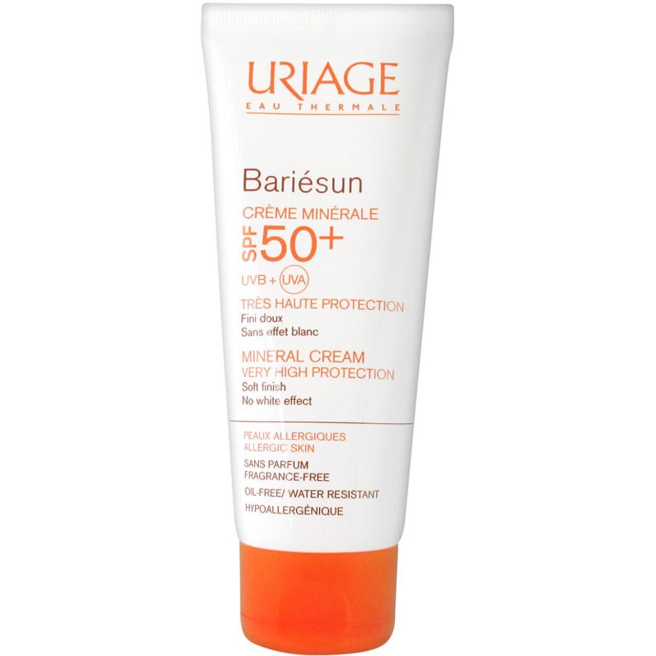 قیمت کرم ضد آفتاب اوریاژ سری Bariesun مدل Mineral حجم 50 میلی لیتر