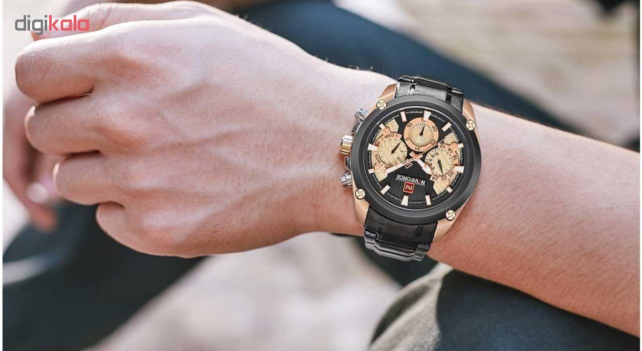 کد تخفیف                                      ساعت مچی عقربه ای مردانه نیوی فورس مدل NF9113M