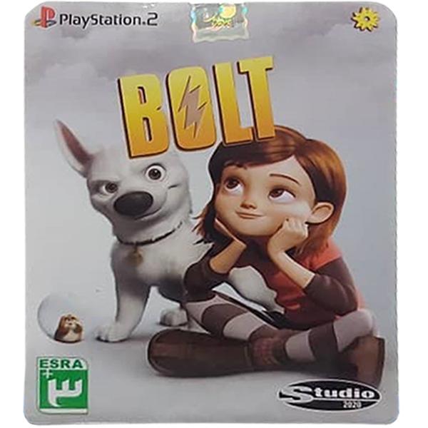 بازی BOLT مخصوص PS2 نشر لوح زرین