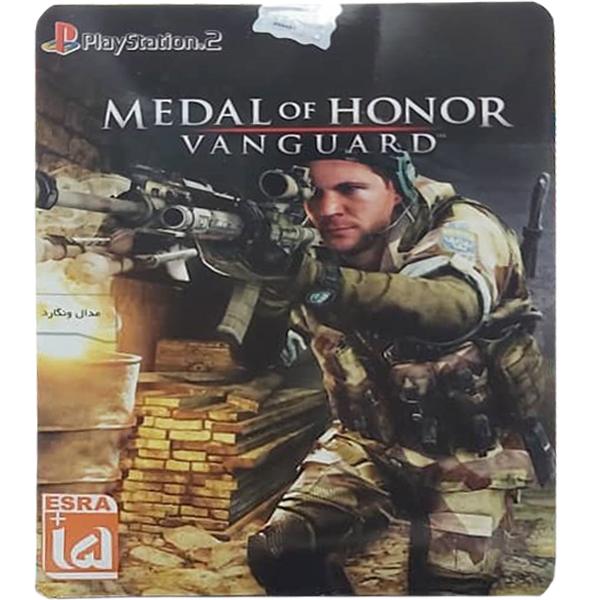 بازی Medal of honor مخصوص PS2 نشر لوح زرین