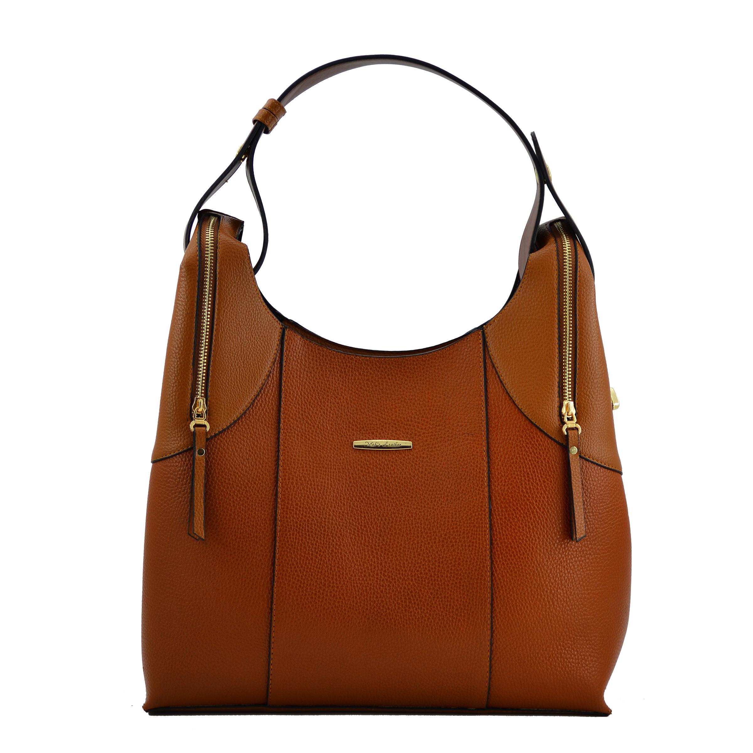 کیف دوشی زنانه چرم مکس مدل آلدورا 11902