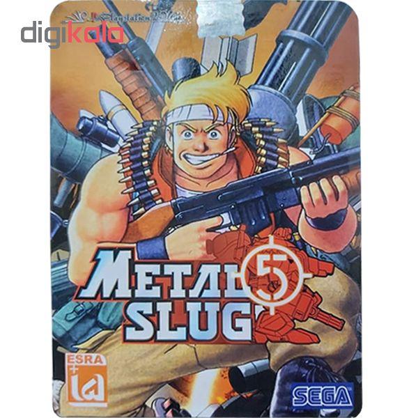 بازی Metal Slug 5 مخصوص PS2 نشر لوح زرین
