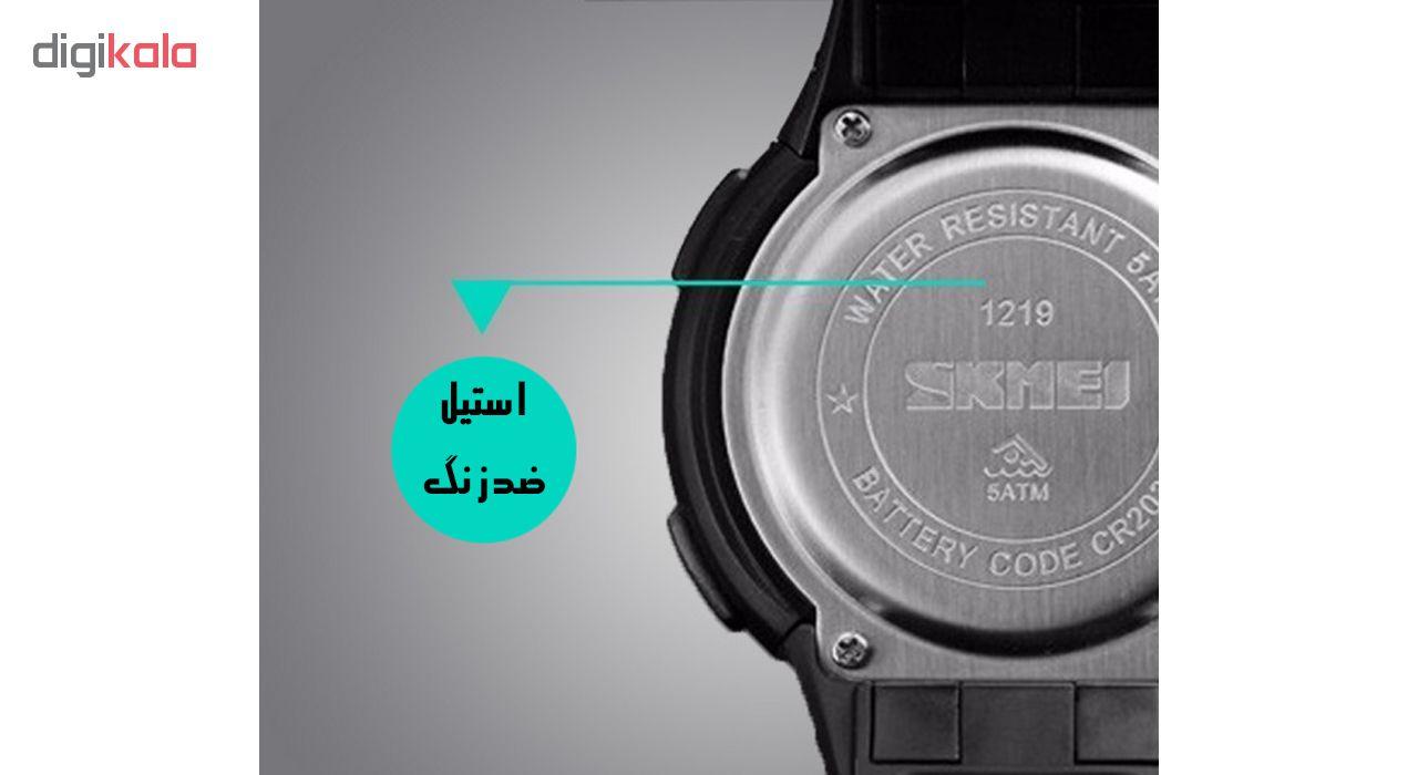 کد تخفیف                                      ساعت مچی دیجیتال اسکمی مدل 1219-A