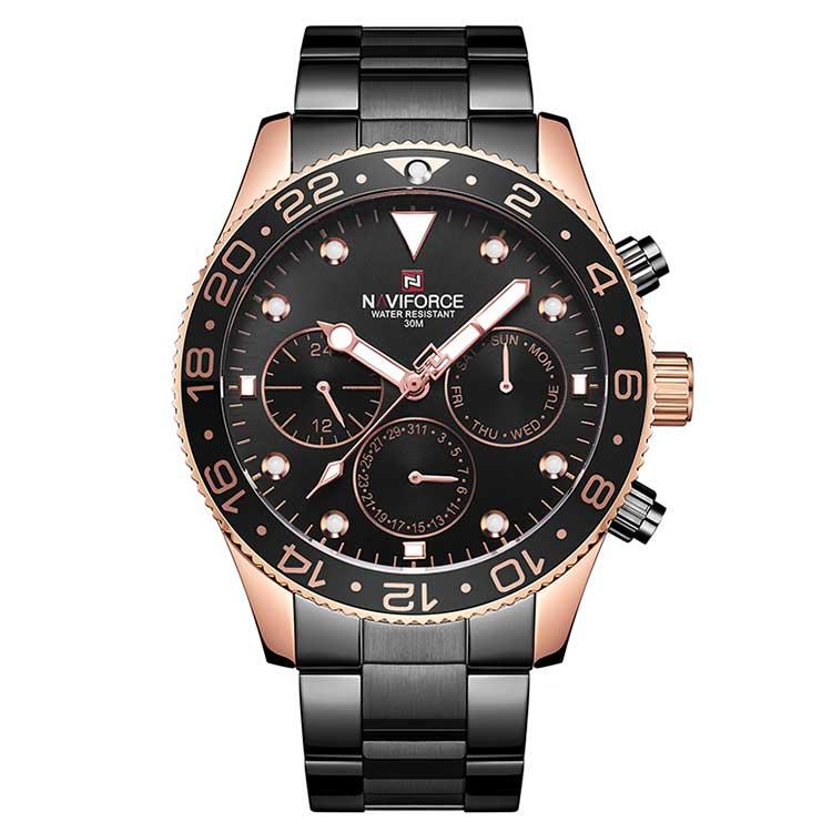 قیمت و خرید                      ساعت مچی عقربه ای مردانه نیوی فورس کد NF9147