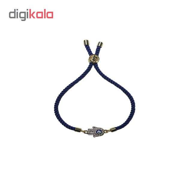 دستبند زنانه طرح چشم نظر کد 10 main 1 1