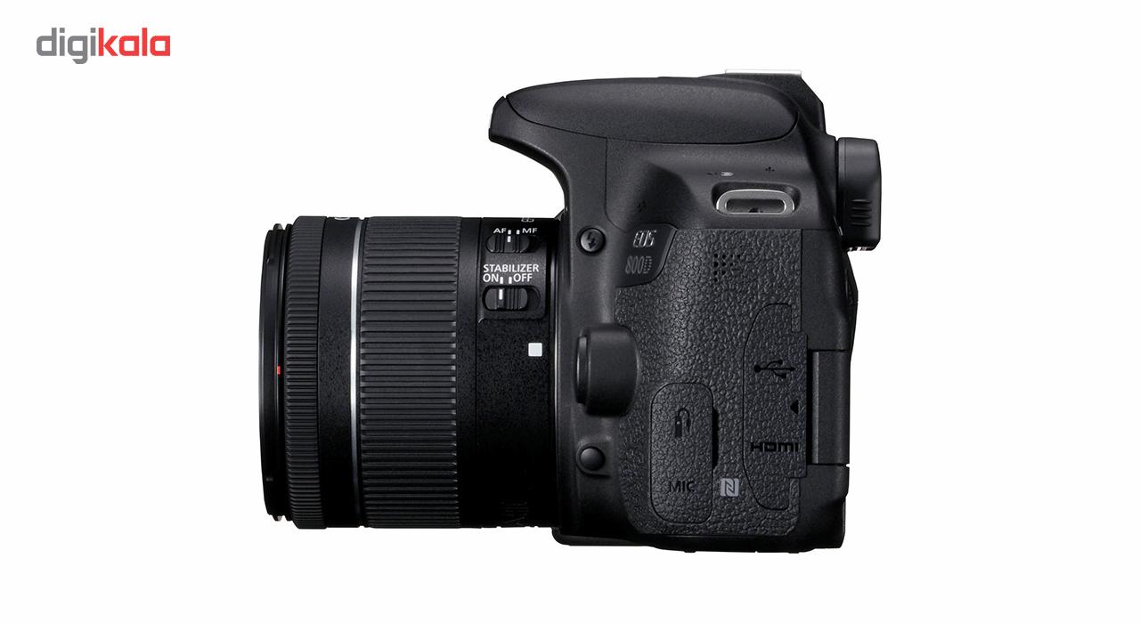 دوربین دیجیتال کانن مدل EOS 800D به همراه لنز 18-55 میلی متر IS STM thumb 4