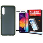 کاور مدل Sb-001 مناسب برای گوشی موبایل سامسونگ Galaxy A50/A30s/A50s به همراه محافظ صفحه نمایش Hard and Thick thumb