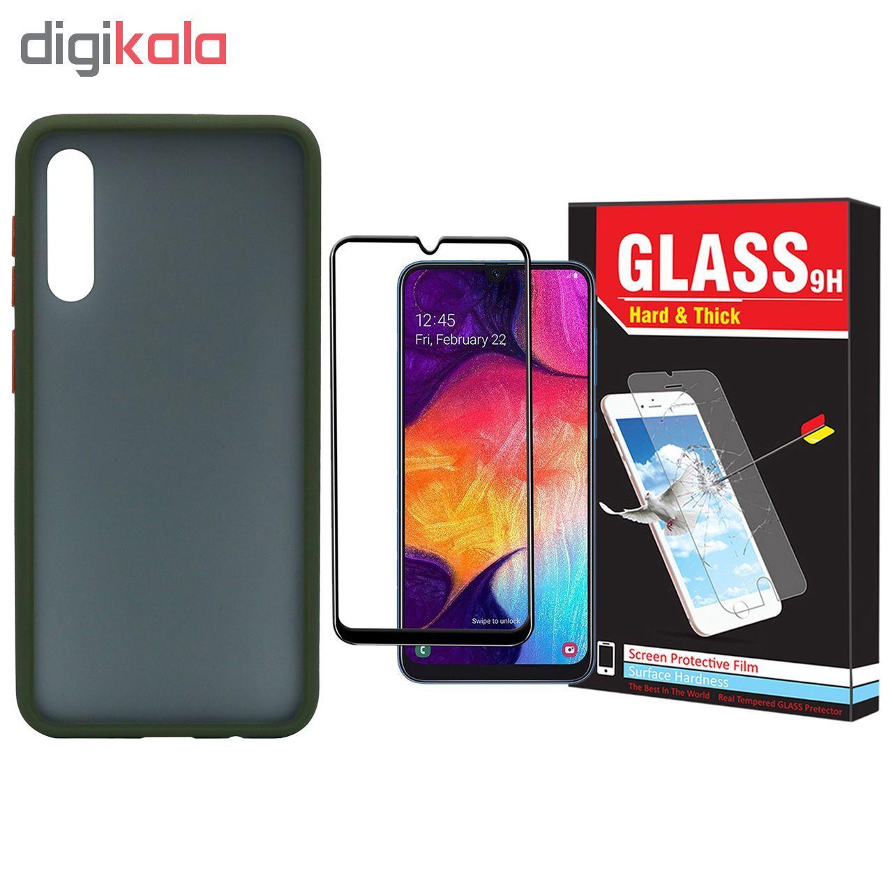 کاور مدل Sb-001 مناسب برای گوشی موبایل سامسونگ Galaxy A50/A30s/A50s به همراه محافظ صفحه نمایش Hard and Thick main 1 1