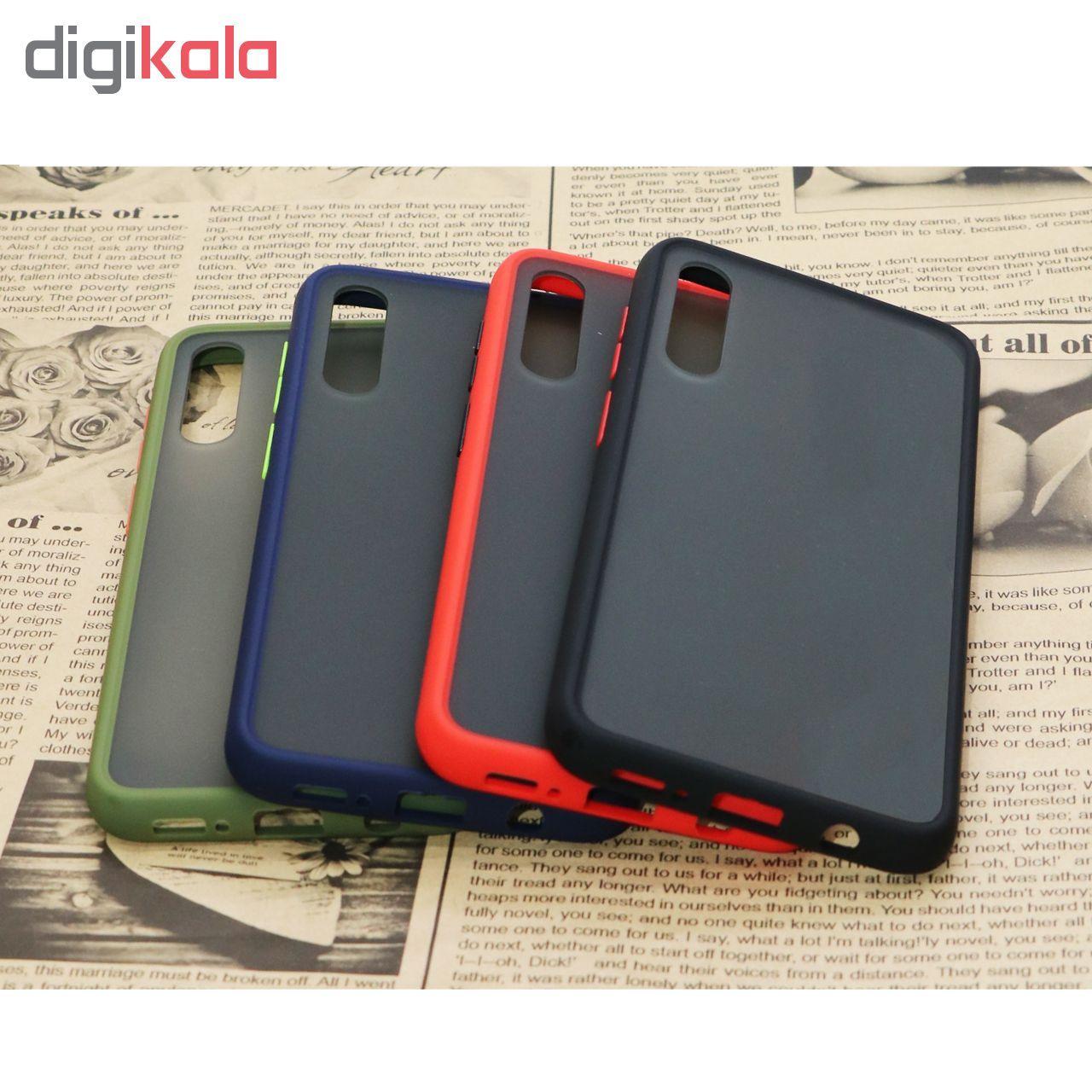 کاور مدل Sb-001 مناسب برای گوشی موبایل سامسونگ Galaxy A50/A30s/A50s به همراه محافظ صفحه نمایش Hard and Thick main 1 2