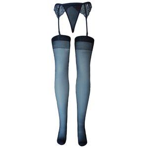ست شورت و جوراب و نگهدارنده جوراب زنانه کد slk01