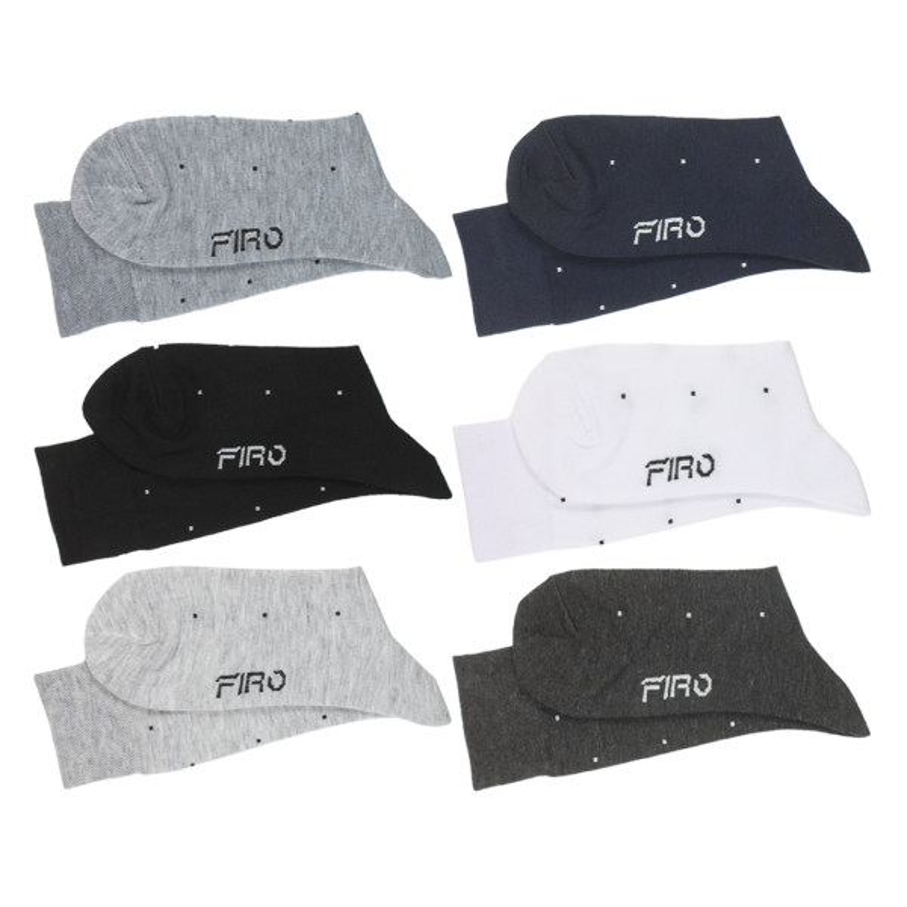 جوراب مردانه فیرو کد FT560 مجموعه 6 عددی
