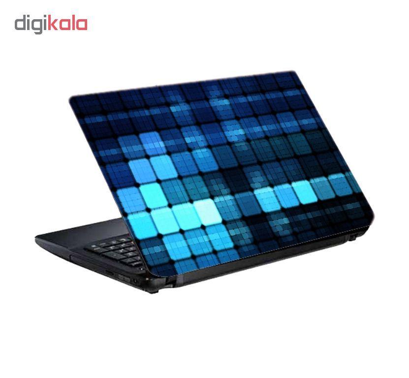 استیکر لپ تاپ طرح الماس کد 0909-98 مناسب برای لپ تاپ 15.6 اینچ به همراه برچسب حروف فارسی کیبورد main 1 2