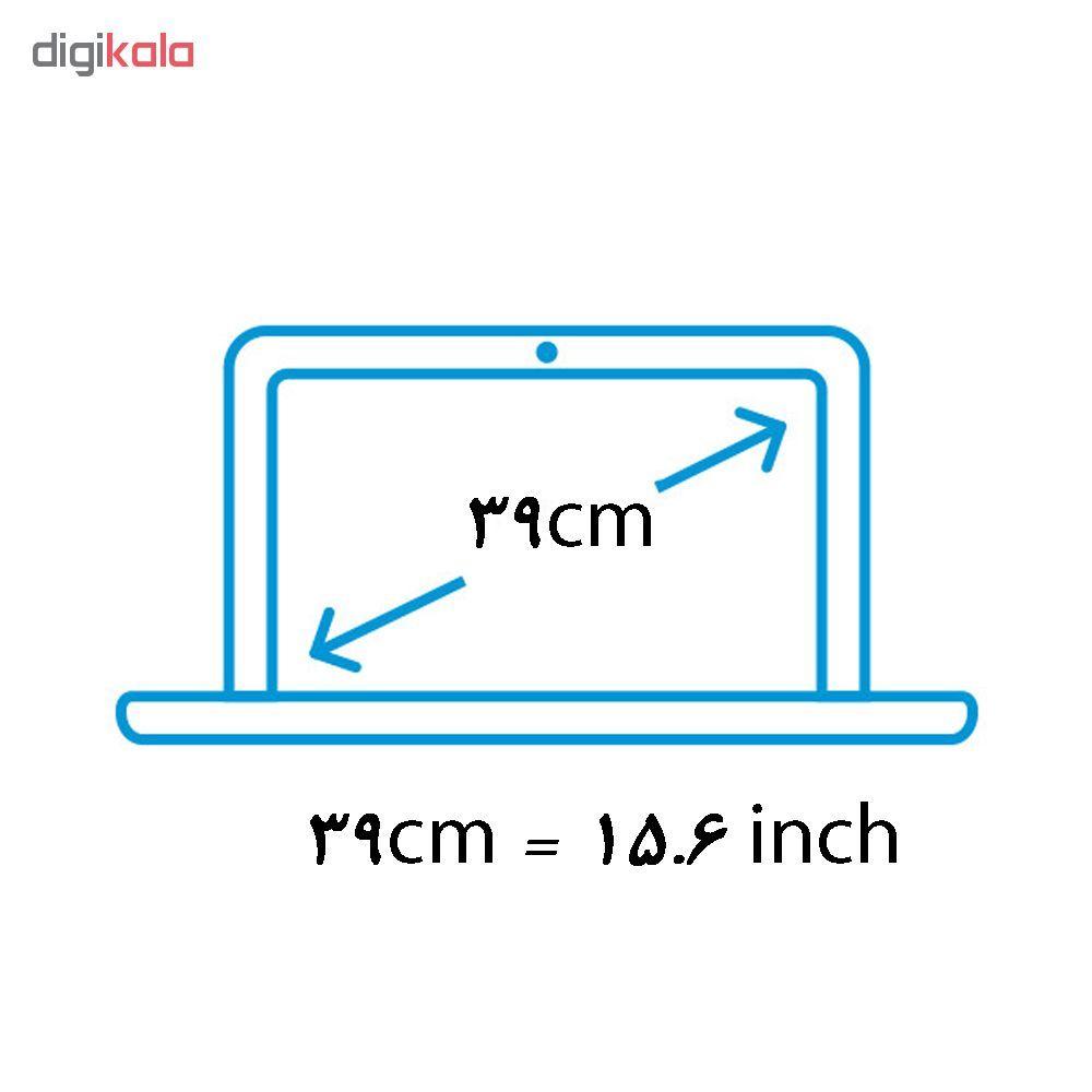 استیکر لپ تاپ طرح الماس کد 0909-98 مناسب برای لپ تاپ 15.6 اینچ به همراه برچسب حروف فارسی کیبورد main 1 5