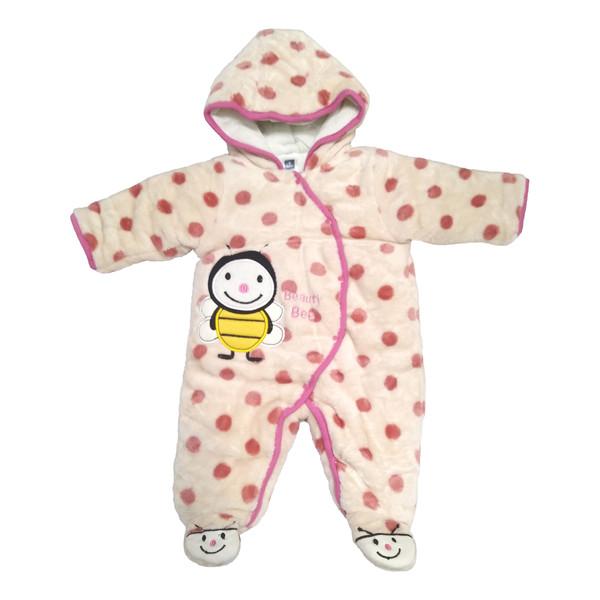 سرهمی نوزادی دخترانه طرح زنبور کد M106