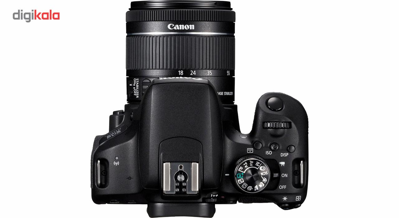 دوربین دیجیتال کانن مدل EOS 800D به همراه لنز 18-55 میلی متر IS STM main 1 5