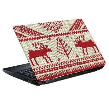 استیکر لپ تاپ طرح بافتنی کد 0908-98 مناسب برای لپ تاپ 15.6 اینچ