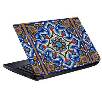 استیکر لپ تاپ طرح کاشی کد 0908-98 مناسب برای لپ تاپ 15.6 اینچ