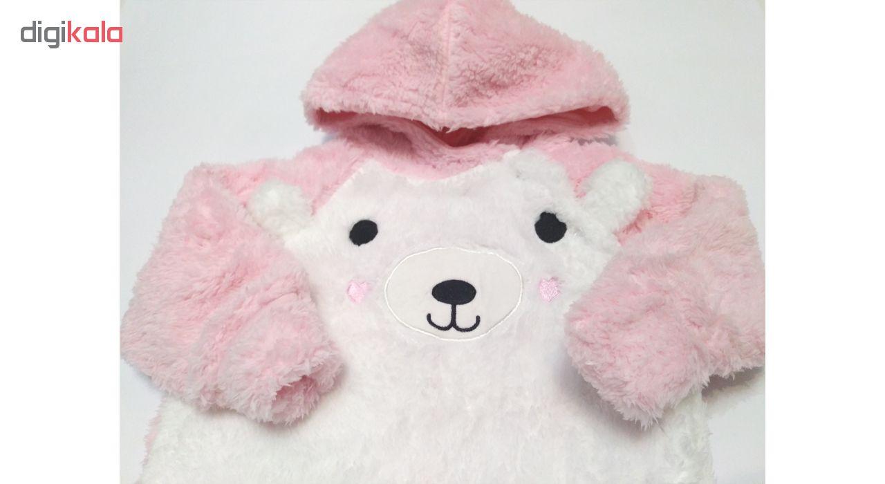 سرهمی نوزادی دخترانه طرح خرس کد M107