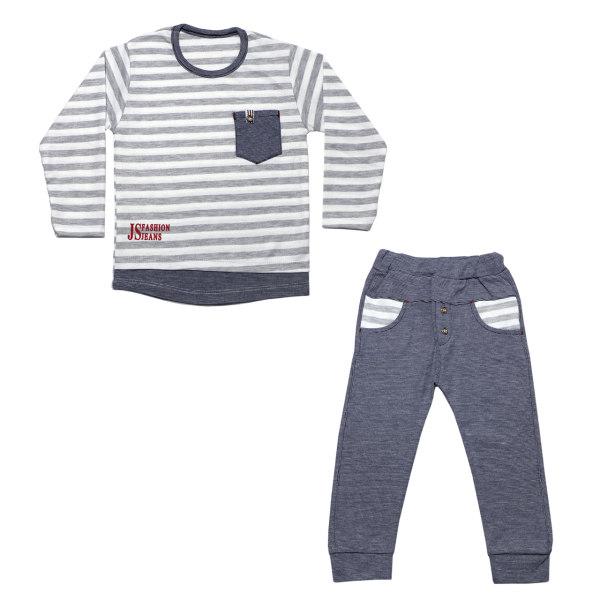 ست تی شرت و شلوار  پسرانه کد kAR-B202-1
