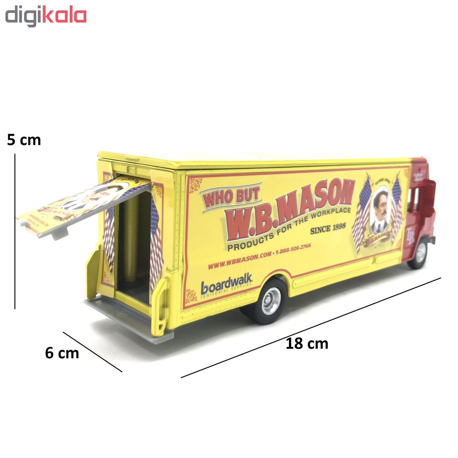 ماشین بازی طرح کامیون W.B.Mason کد 160
