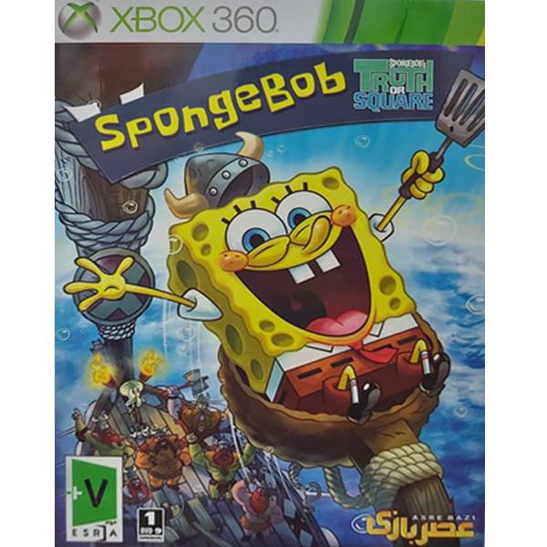 بازی Sponge Bob مخصوص XBOX 360 نشر عصر بازی