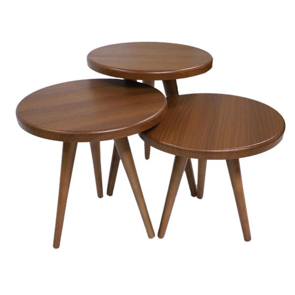 میز عسلی مدل 207HGV مجوعه 3 عددی