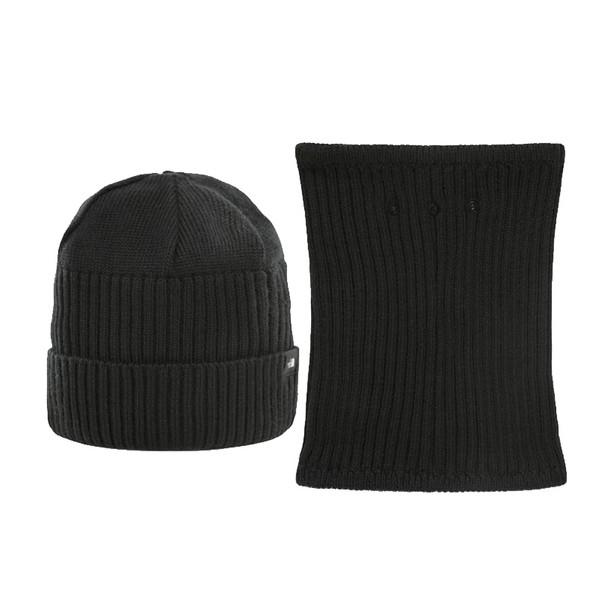 ست کلاه و شال گردن مردانه نورث فیس مدل BEANIE