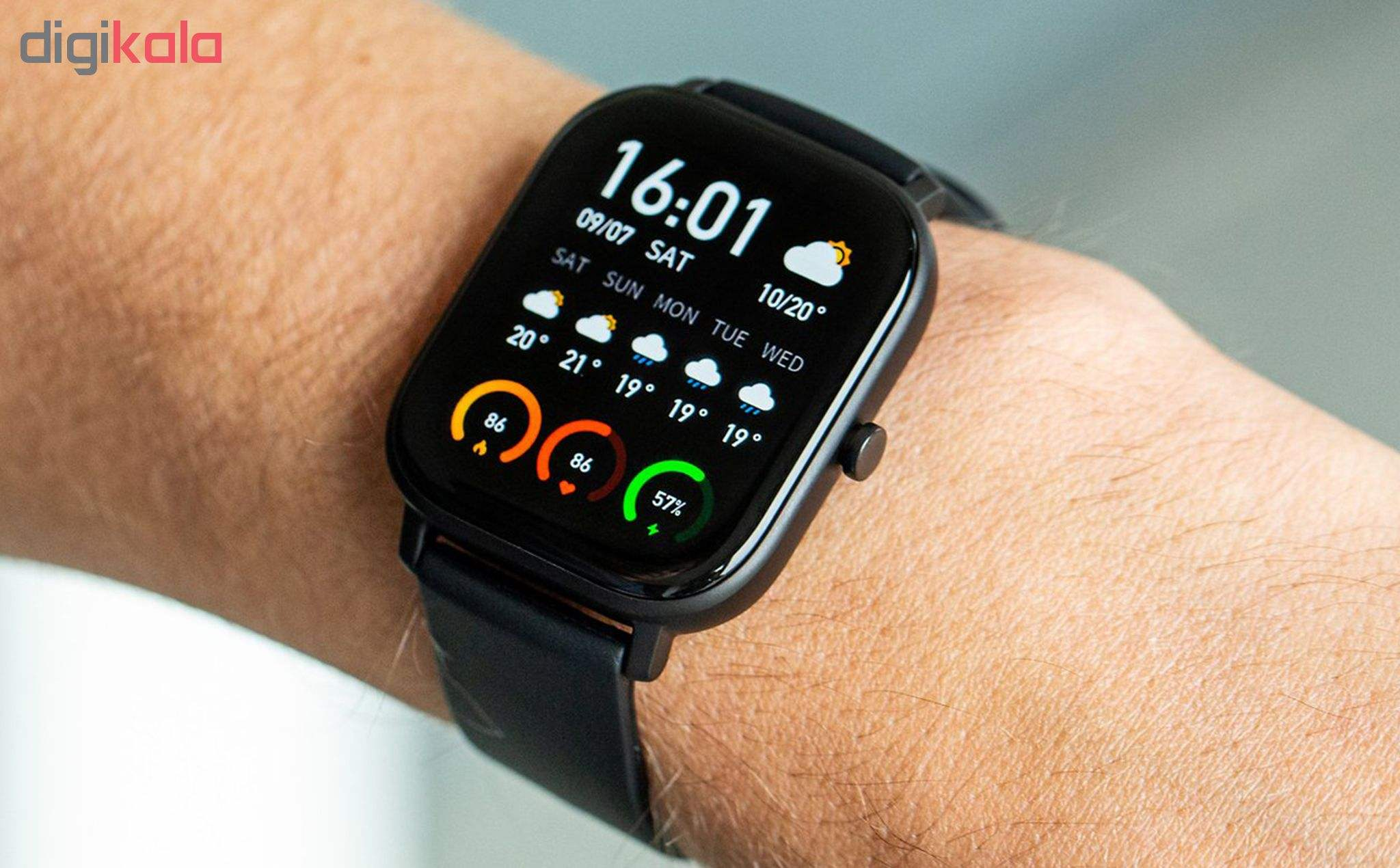 ساعت هوشمند امیزفیت مدل GTS main 1 12