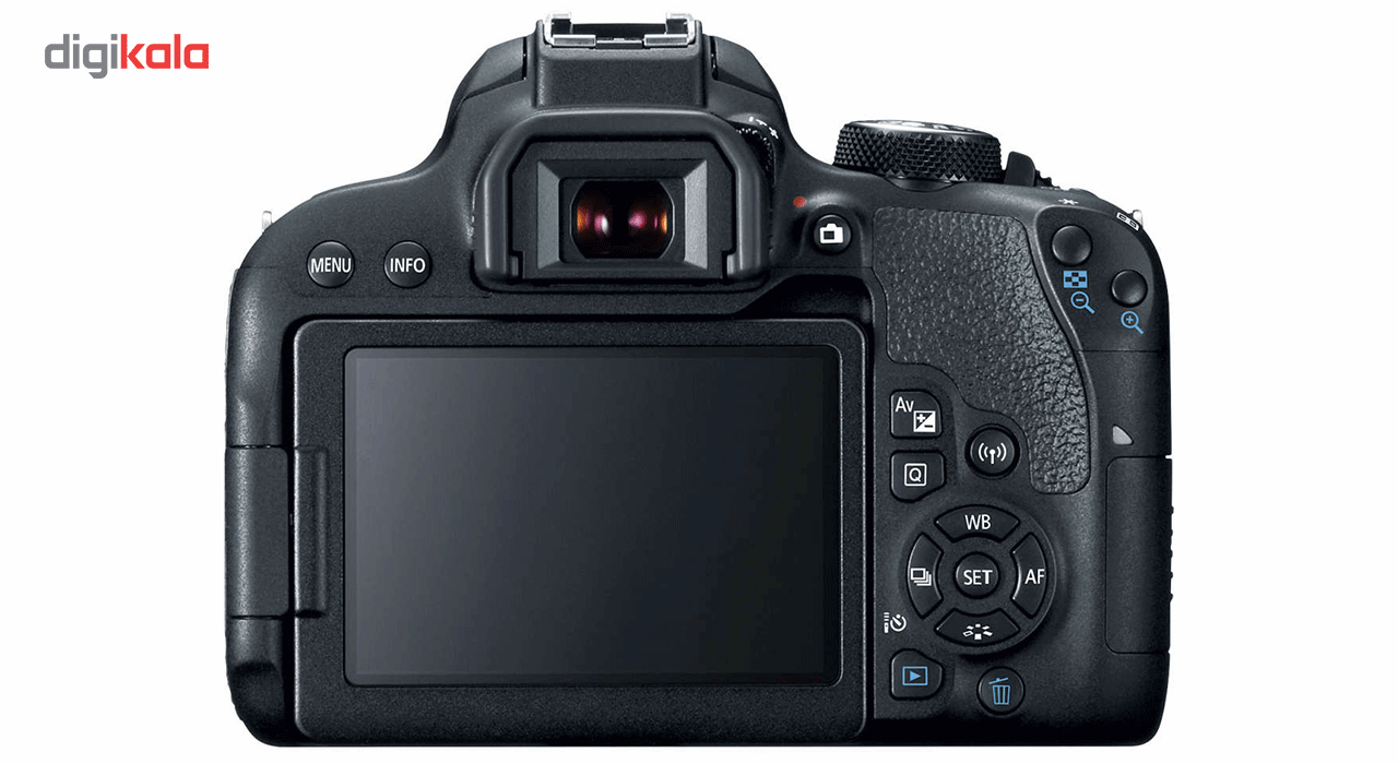 دوربین دیجیتال کانن مدل EOS 800D به همراه لنز 18-55 میلی متر IS STM main 1 6