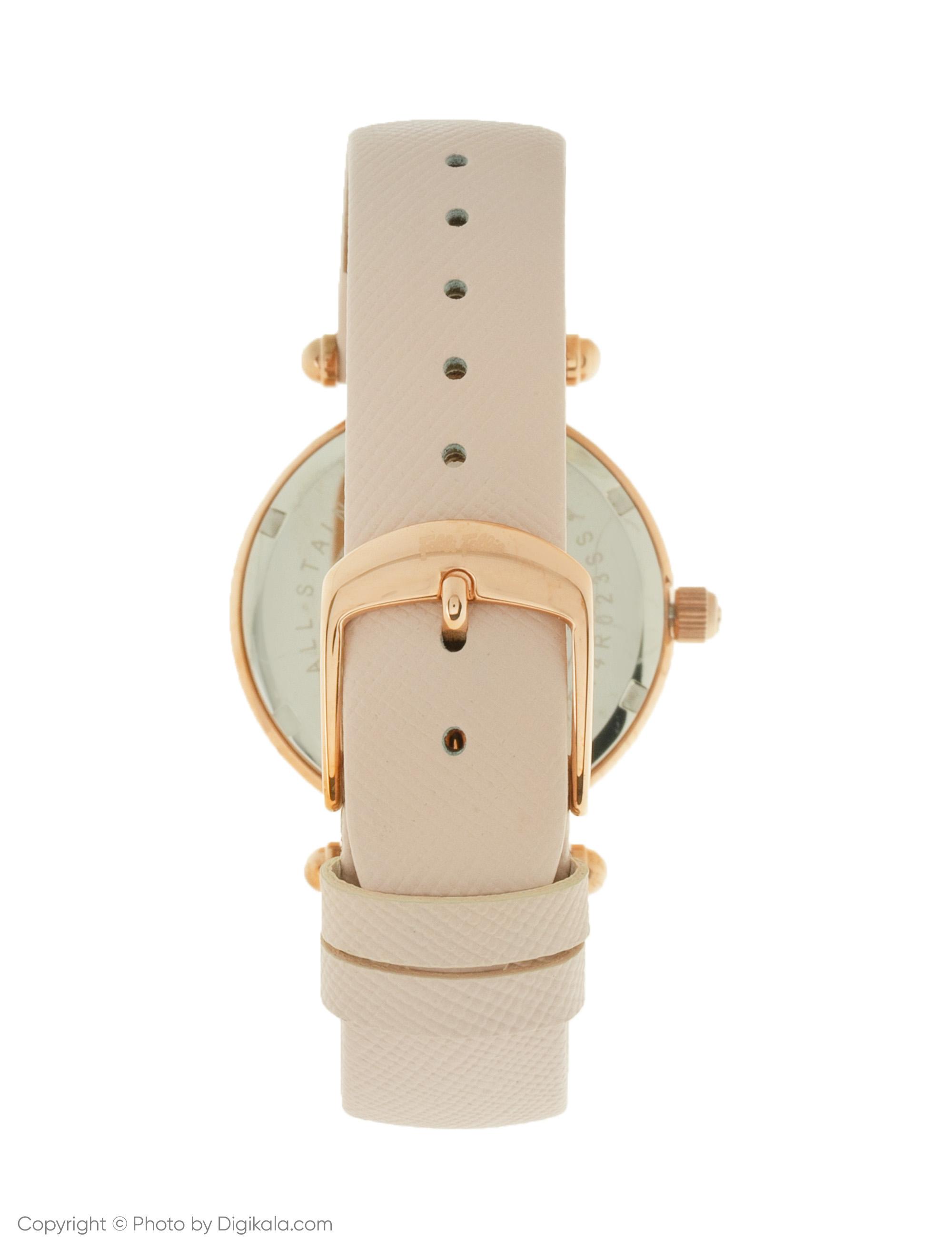 ساعت مچی  زنانه فولی فولیه مدل WF14R023SSS-PI (بدون جعبه اورجینال)              اصل