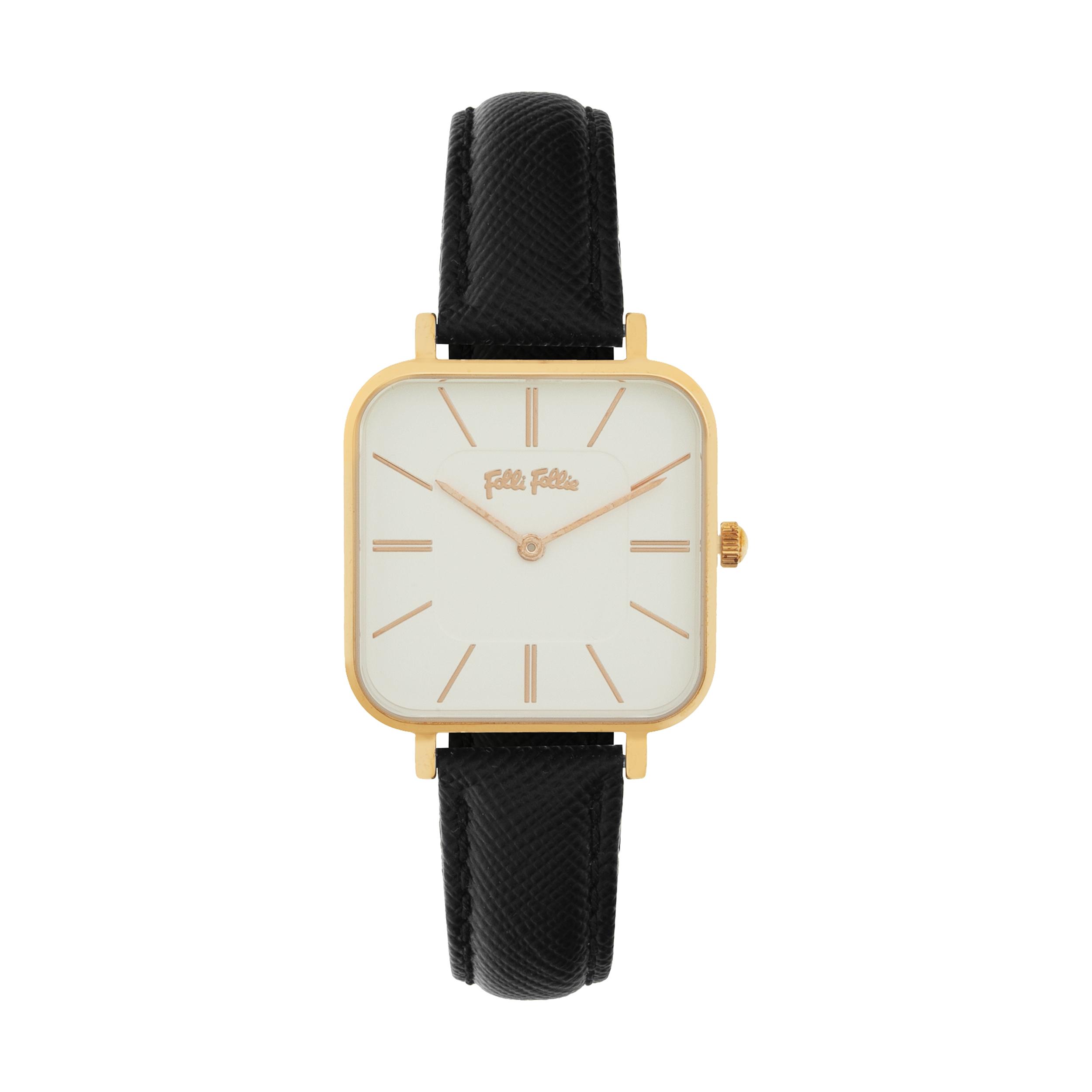 ساعت مچی عقربه ای زنانه فولی فولیه مدل WF18R007SPW-BK (بدون جعبه اورجینال)              خرید (⭐️⭐️⭐️)