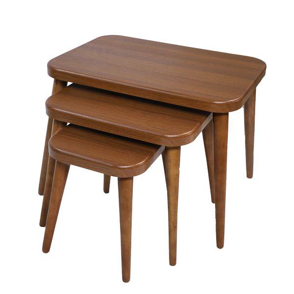 میز عسلی مدل 129PYU مجموعه 3 عددی