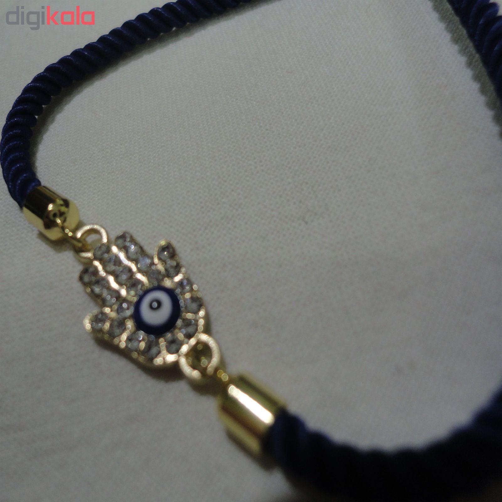 دستبند زنانه طرح چشم نظر کد 10 main 1 2