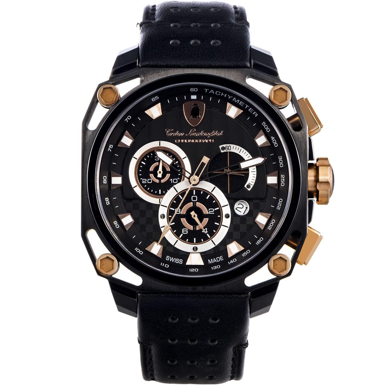 ساعت مچی عقربه ای مردانه تونینو لامبورگینی مدل TL-4850 26