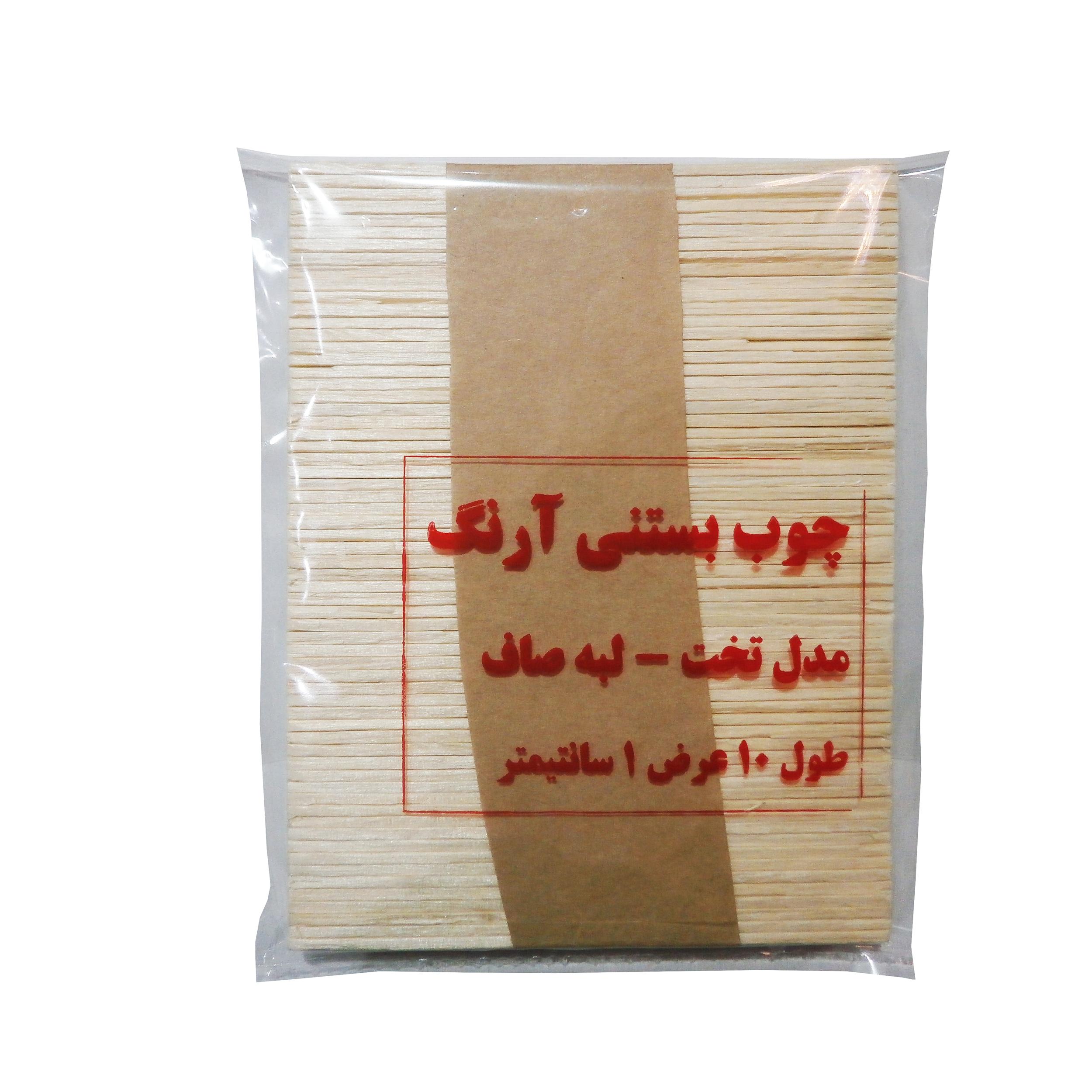 چوب بستنی  مدل P1001 بسته 60 عددی