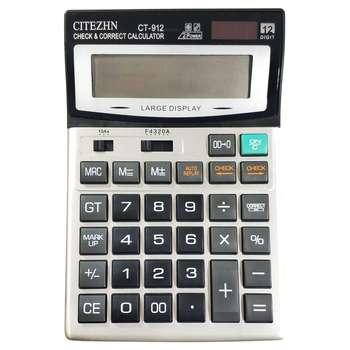 تصویر ماشین حساب سیتیزن مدل CT912