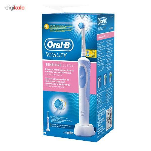 مسواک برقی اورال-بی مدل D12.513S Vitality Sensitive Clean main 1 8