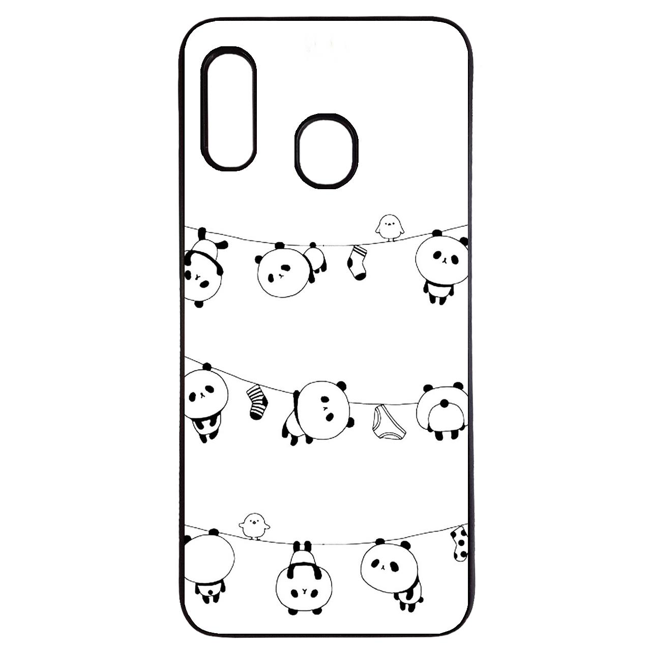 کاور طرح پاندا کد 43173 مناسب برای گوشی موبایل سامسونگ galaxy m30
